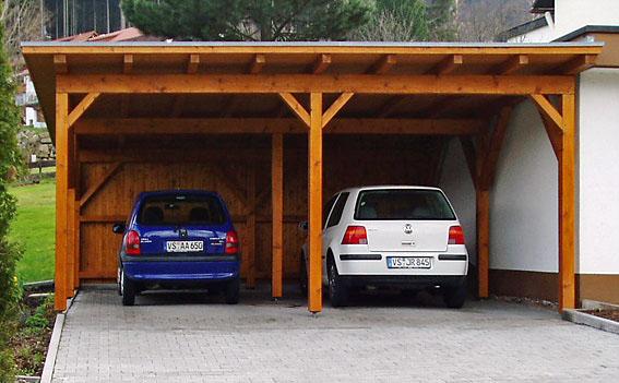 Carport-2-Stellplätze