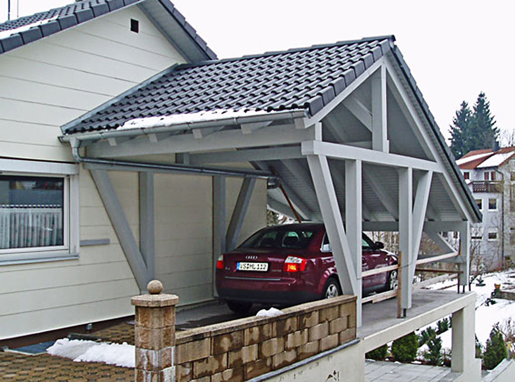 Carportanbau