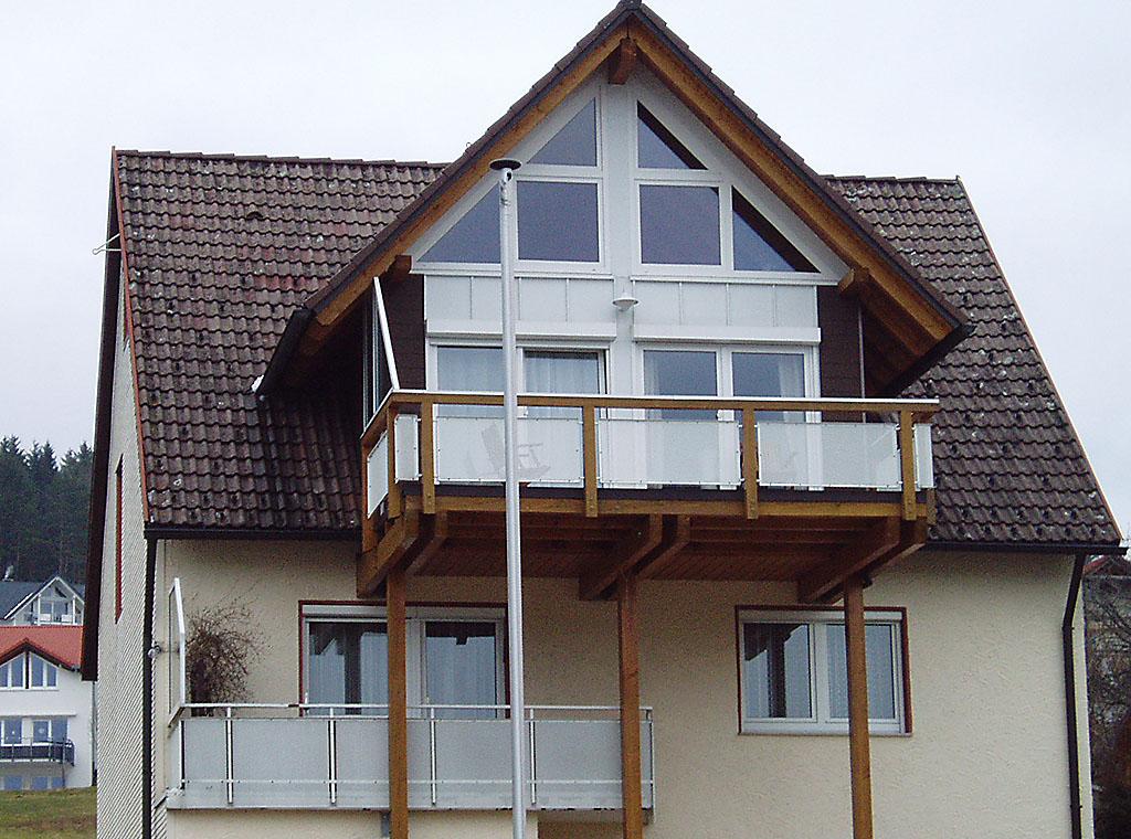 Wiederkehr mit Balkon