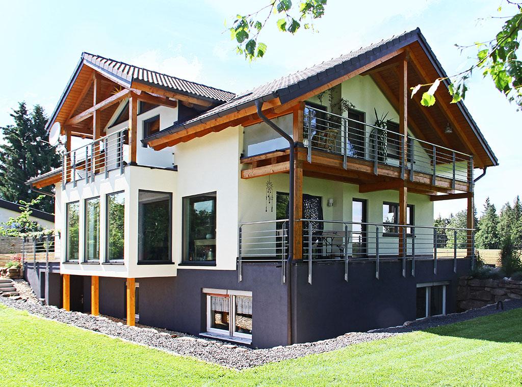 Holzhaus - Eigenausbau unter Anleitung