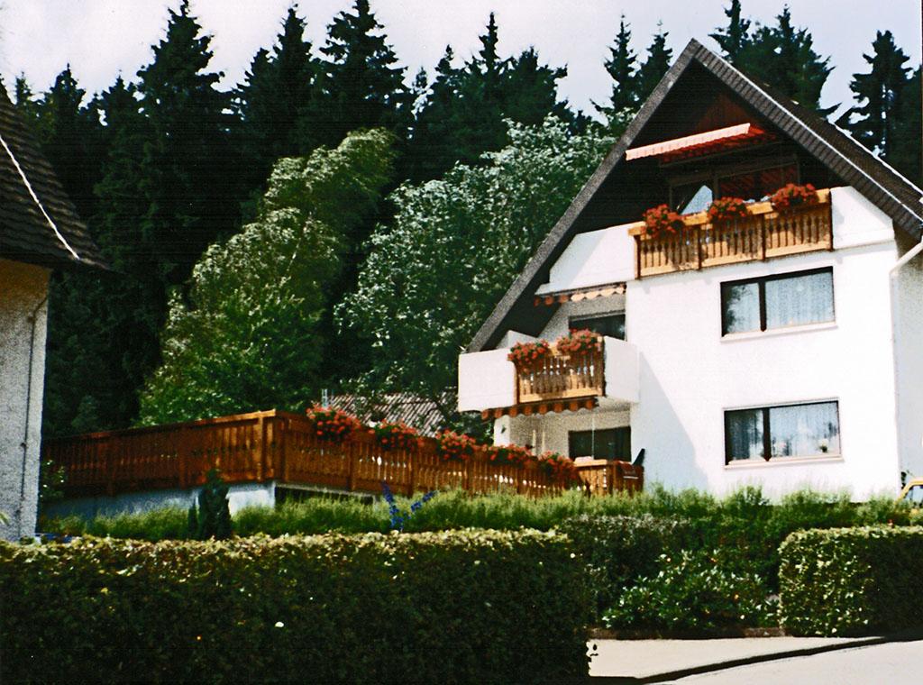 Balkon und Terrassengeländer
